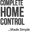 text headline small home control 1